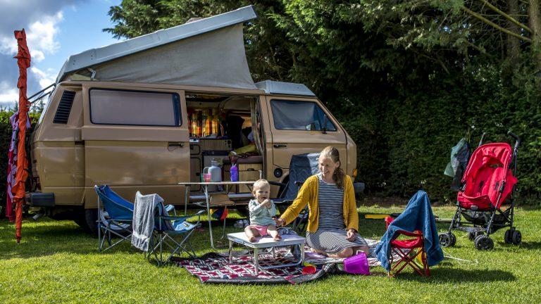 kamperen met kinderen brabant