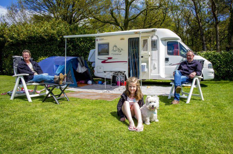 kamperen tijdens de meivakantie